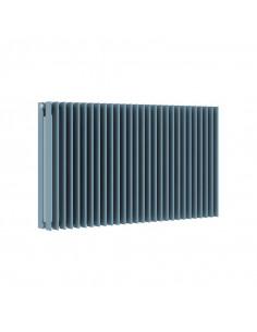 Tmavě šedý skleněný radiátor