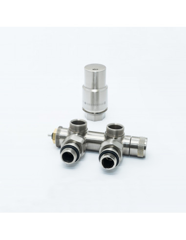 Centre thermostatic set - corner