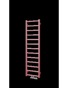 Šedý radiátor - Vertikální designový radiátor.